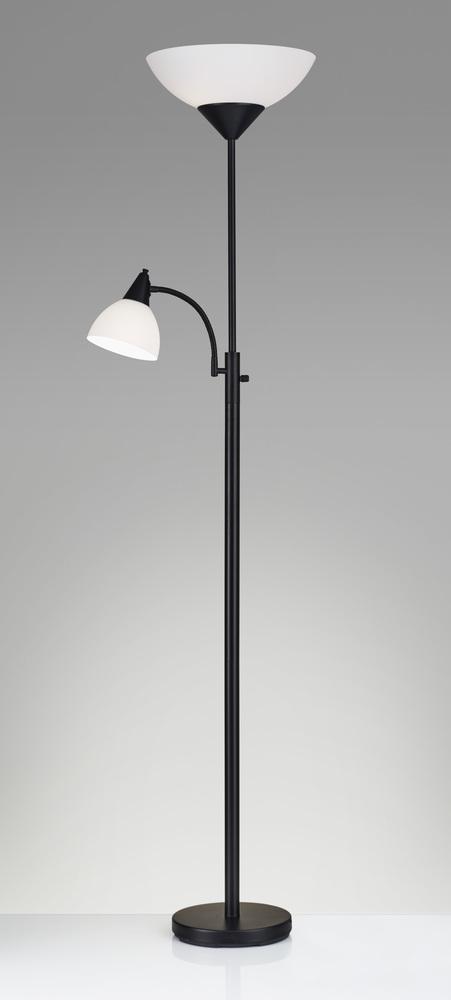 Piedmont 300w Combo Torchiere 6v23l Kuhl Lighting